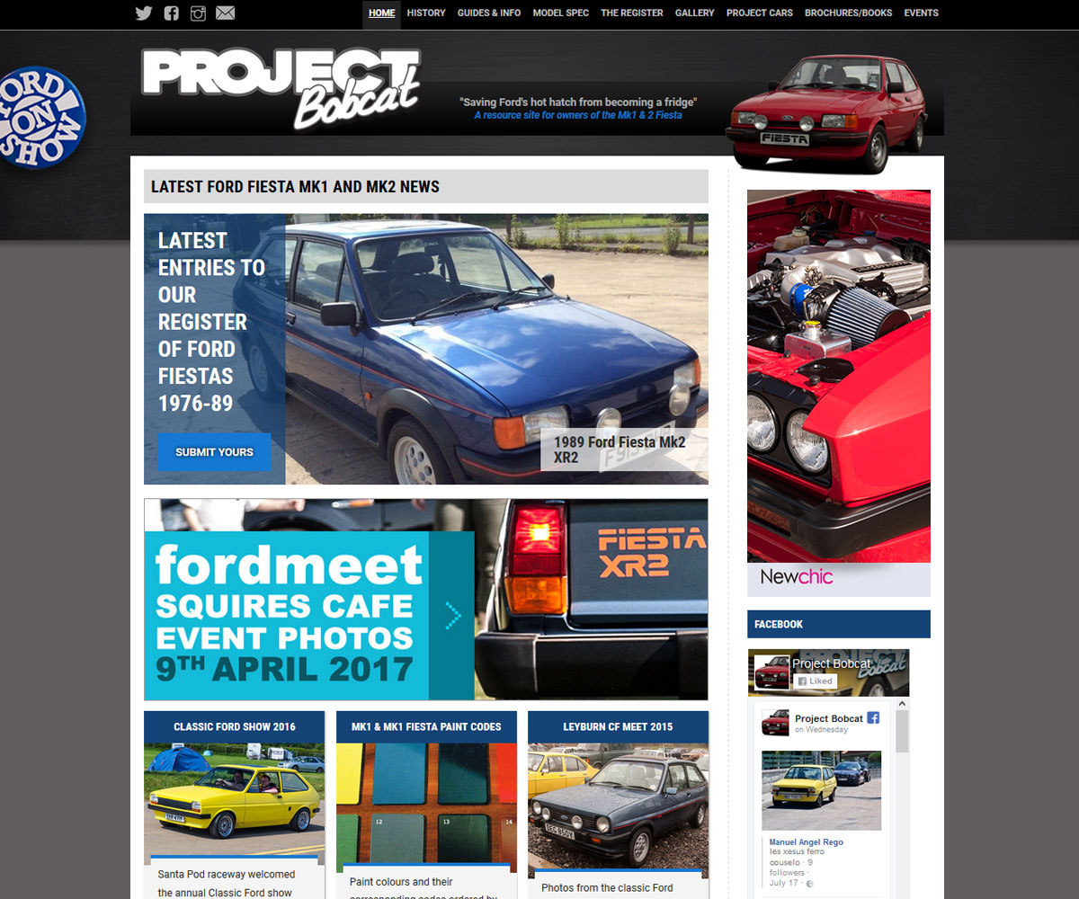 Project Bobcat website
